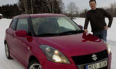 PROV: Vinterbilen Suzuki Swift Sport