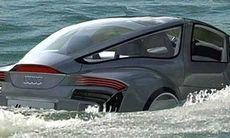 En Audi som kan simma