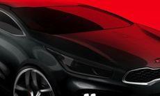 Kia Pro Ceed GT – första skissen