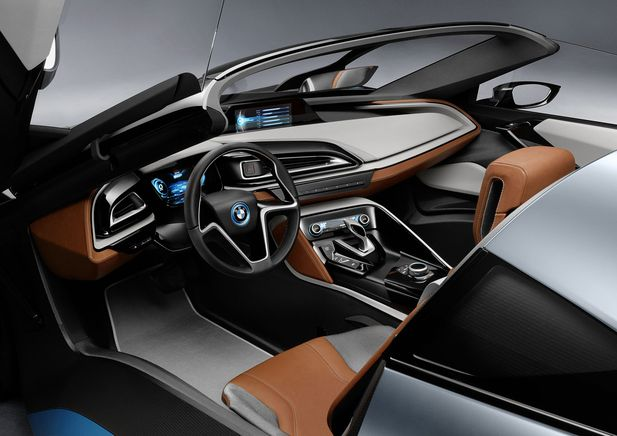 BMW i8 Concept Spyder premiärvisas i Beijing - Bild 525243