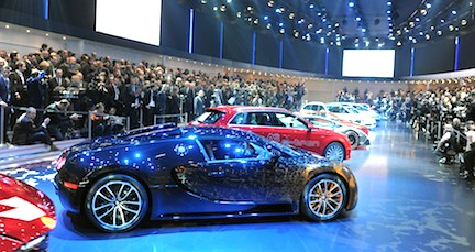 VW Group Night Geneva 2013