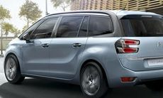 Citroën Grand C4 Picasso blir sjusitsig