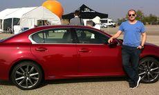 PROV: Nya hybriden Lexus GS 450h