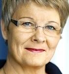 Maud Olofsson tycker inte att Saabs konkurs går att skylla på regeringen.