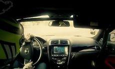 FILM: Jaguar XKR-S Convertible intar Nürburgring