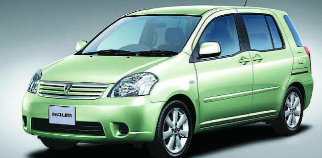 Toyota Raum 1.5 (2011-)