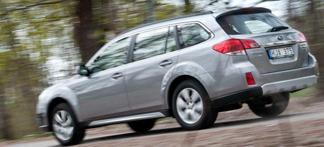 PROV: Subaru Outback Boxer-CNG