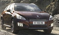 Peugeot 508 RXH – 4WD-hybriden