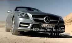 Mercedes SLK avslöjad i reklamfilm