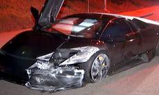Köpte Lamborghini Murcielago, krockade och försvann