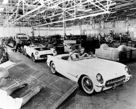Chevrolet Corvette firar 60