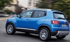 VW utmanar Fiat Panda med Taigun