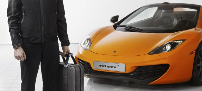 Har du haft svårt att utnyttja bagageutrymmet i din MP4-12C? Nu finns lösningen!