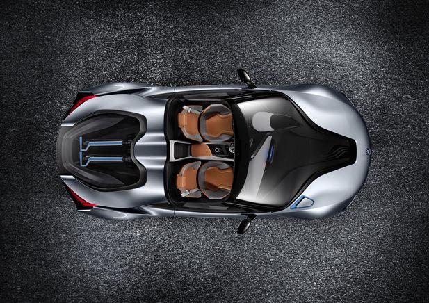 BMW i8 Concept Spyder premiärvisas i Beijing - Bild 525244